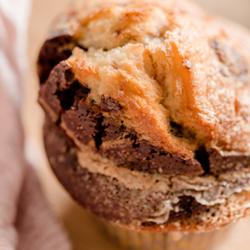 Image de Muffin Marbré Choco Vanille