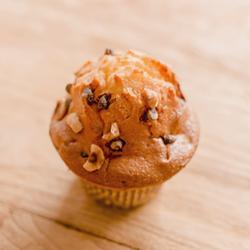 Image de Muffin pépites choco noisettes